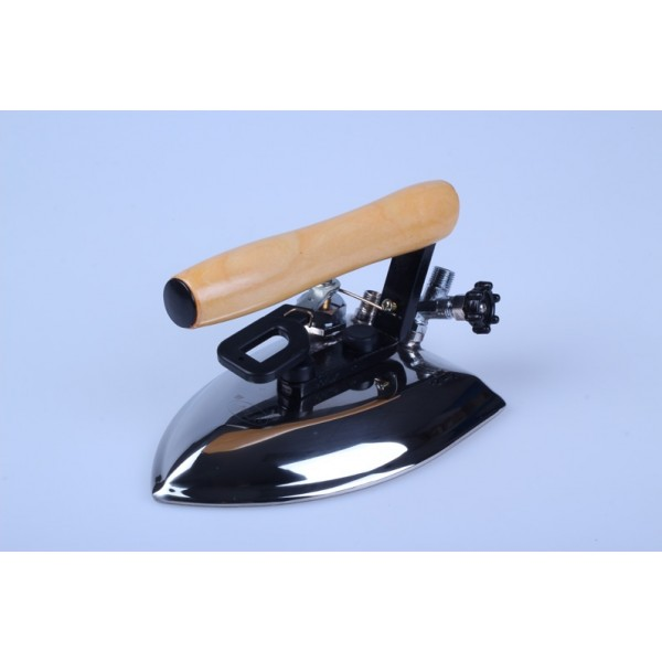 All Steam Iron - Wooden Handle