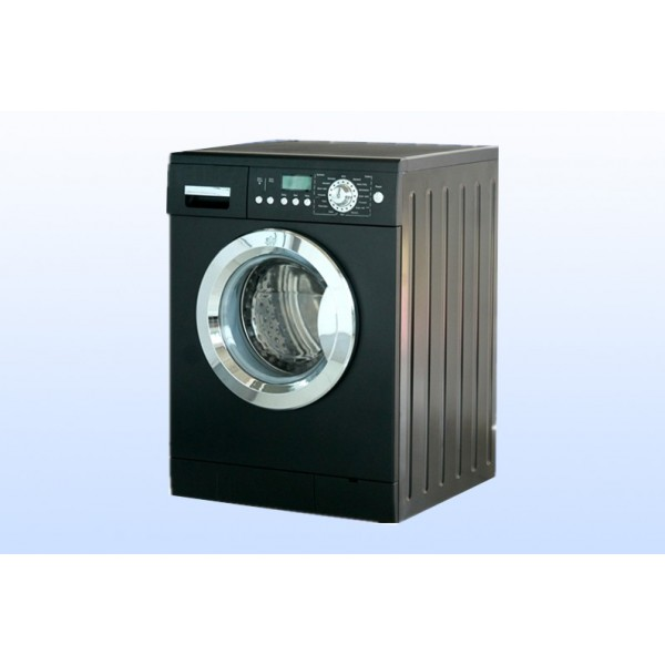 Fully Automatic Front Load Washing Machie-Black