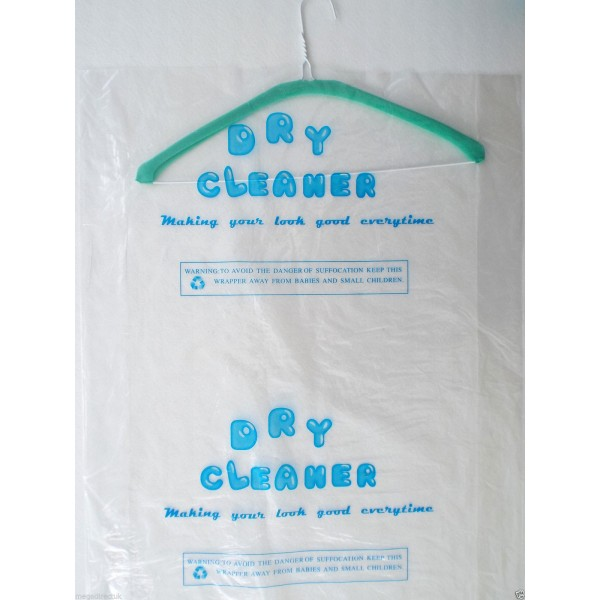 Dry cleaner Polythene Roll - Clear/Printed - Continue