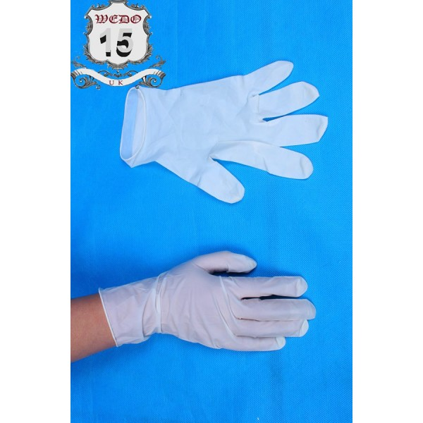 Disposal Rubber Glove-pk 100