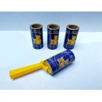 Lint Rolls with handle - 5M brown