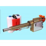 Model 180-304 portable enhanced water mist & smoke pilsed power fogging machine, rear fuel tank