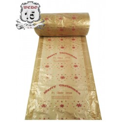 Polythene Rolls - Snowing Christmas Theme