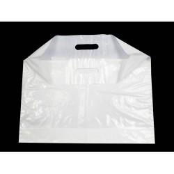 """Carry Bag Plain White- 18""""*15""""*2"""" 250pcs"""